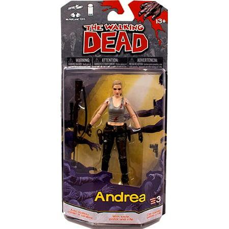 Series 3 Mcfarlane Toy (McFarlane Toys Walking Dead Comic Book Series 3 Andrea Action Figure)
