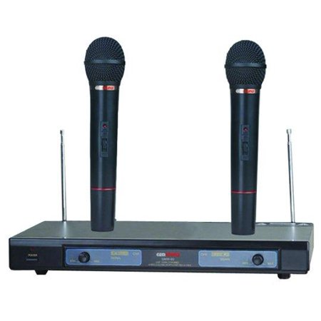 gem sound gmw61 dual wireless microphone ef. Black Bedroom Furniture Sets. Home Design Ideas