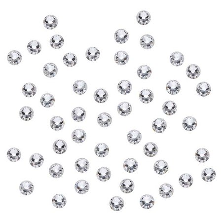 Swarovski Crystal, Round Flatback Rhinestone SS9 2.5mm, 72 Pieces, Crystal Foiled ()