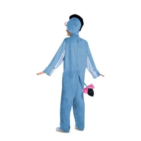 Adult Deluxe Eeyore - Eeyore Costume Diy