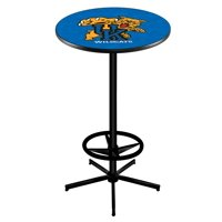"L216 - 42"" Black Kentucky ""Wildcat"" Pub Table by Holland Bar Stool Co."