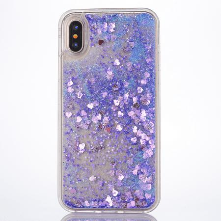 liquid glitter Phone case iPhone Xs