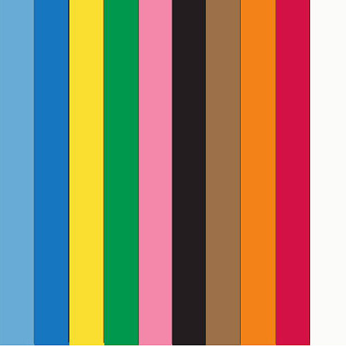 "School Smart Heavyweight Construction Paper, 9"" x 12"", 100 Sheets, Available in Multiple Colors"