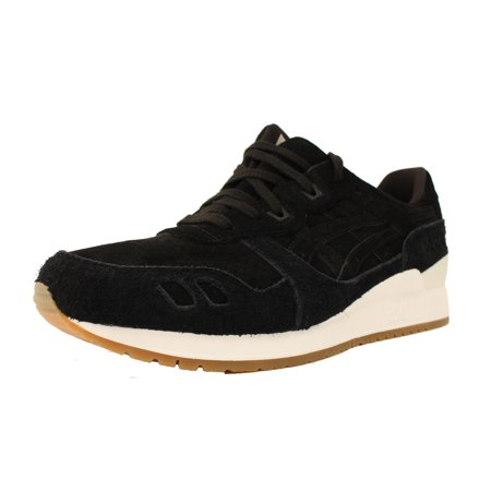 ASICS GEL LYTE III 3 SZ 13 BLACK WHITE GUM BROWN SUEDE (Air Force 1 Black Suede Gum Low)