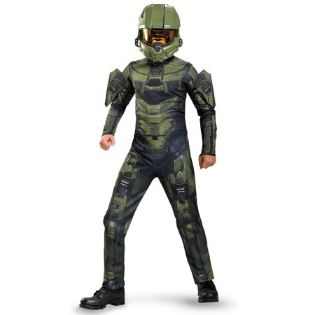 Boys Halo Master Chief Classic Costume](Halo Master Chief Costumes For Kids)