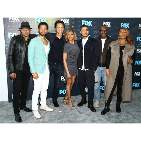 Terrence Howard Jussie Smollet Taraji P Henson Quincy Brown Lee Daniels Queen Latifah At Arrivals For Fox Upfront Presentation 2017 Post-Party Wollman Rink In Central Park New York Ny May 15 2017 Phot