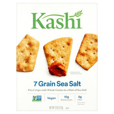 Pita Crisps (Kashi 7 Grain Sea Salt Pita Crisps, 7.9 oz, 12)