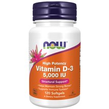 Vitamins & Supplements: NOW Supplements Vitamin D-3