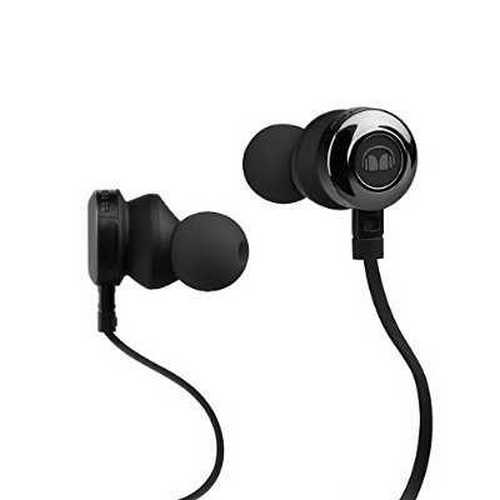 Refurbished Monster Clarity HD In-Ear Headphones, Black