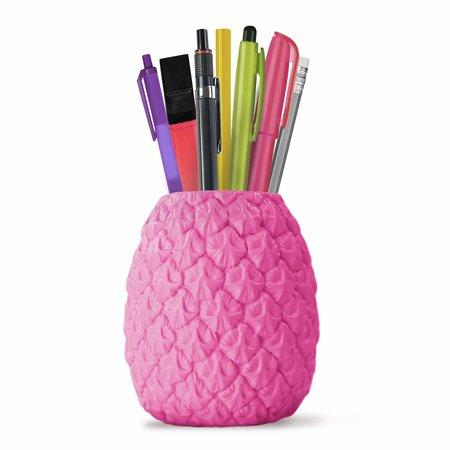 Mustard Pen Holder Pot - Pink Seriously
