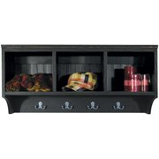 Sawdust City Locker Shelf, Antique Red