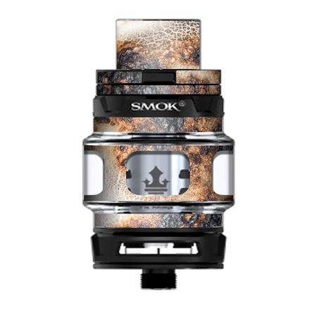 Skin Decal Vinyl Wrap for Smok TFV12 Prince Tank Vape Kit skins stickers cover / Burnt Marshmallow Fire Smores - Smores Kit