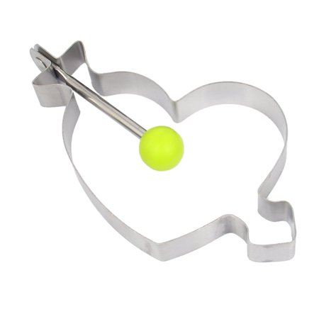 Heart Shaped Home Pastr DI Tool Cookie Baking Cutter Mold - Bake Sale Halloween Ideas