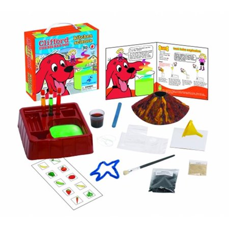 Young Scientist Club Kitchen Science with Clifford The Big Red Dog