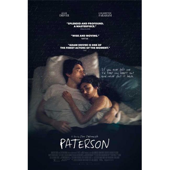 Paterson Movie Jim Jarmusch 2016 Movie Art Hot 12x18 24x36in FABRIC Poster N3556