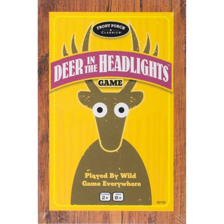 Front Porch Classics Deer In The Headlights Game- (Deer In The Headlights Card Game Rules)