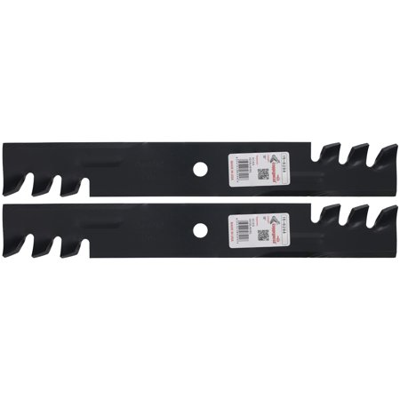 2 Rotary® Toothed Blades for Toro® 105-7779-03 105-7781 36in. 52in. 54in. Deck