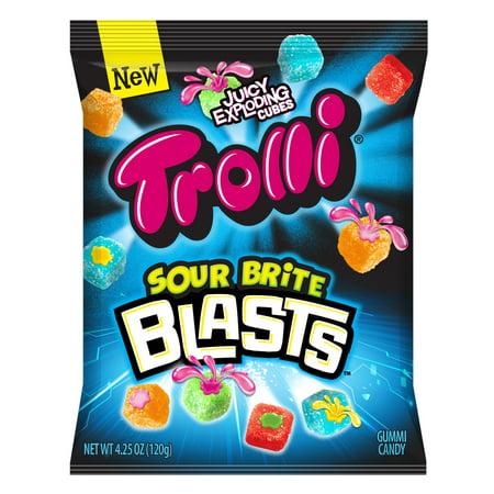 Candy Planet Gummies (Trolli, Sour Brite Blasts Gummy Candy,)