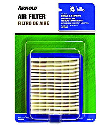 2 pk Arnold MTD 208 CC Paper Engine Air Filter With Pre-Cleaner OEM-751-10794