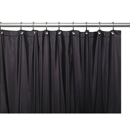 Splash Collection By BenJonah 3 Gauge Vinyl Shower Curtain Liner With Metal Grommets And Magnets In