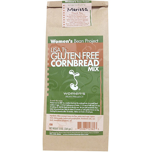 Women's Bean Project Lisa T's Gluten Free Cornbread Mix, 13 oz