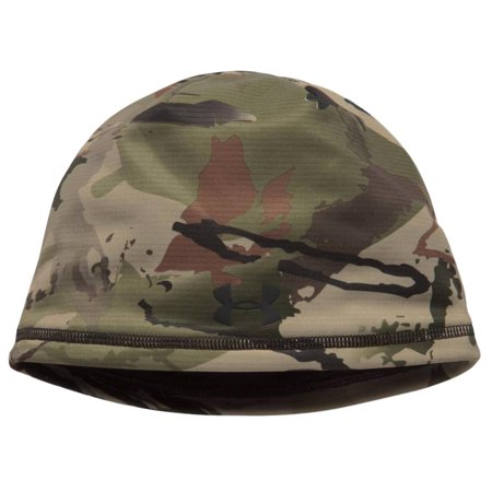 Under Armour - Under Armour Men s UA ColdGear Storm Scent Control Armour  Fleece Camo Hunting Beanie - Walmart.com dd1079d69758