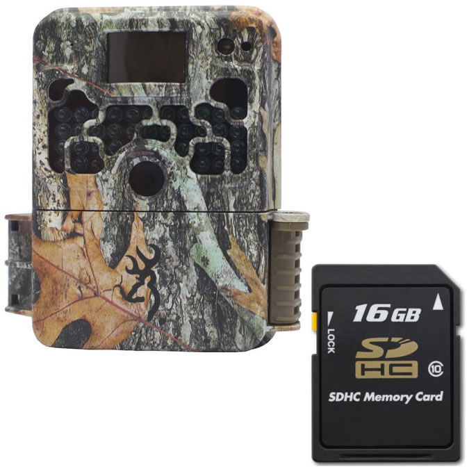 Browning Strike Force HD 850 Trail Camera BTC 5HD 850 + 16GB SD Card