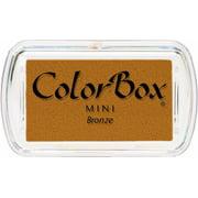Clearsnap Colorbox Mini Pigment Inkpad, Bronze Multi-Colored