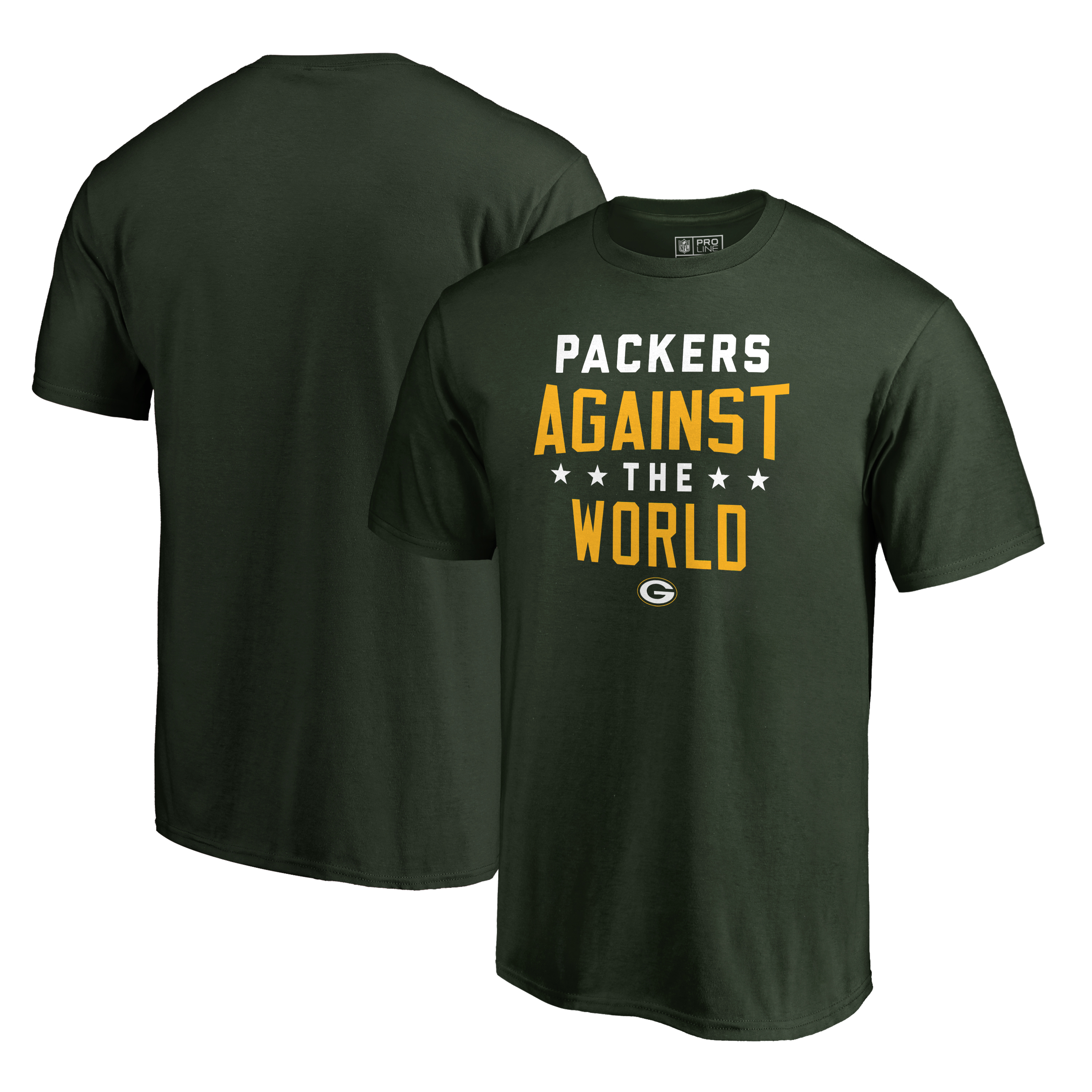 Green Bay Packers NFL Pro Line by Fanatics Branded Against The World T-Shirt - Green