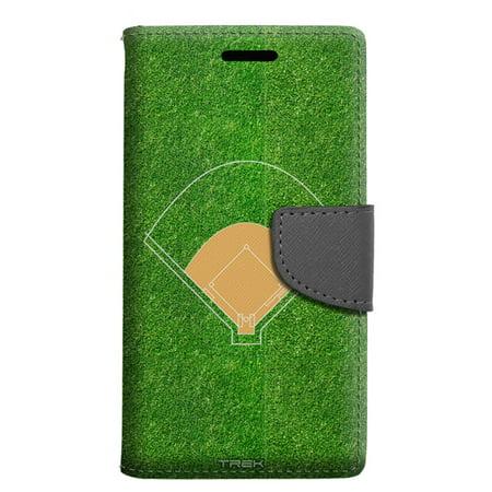 finest selection 770f4 a2645 Samsung Galaxy S8 Plus Wallet Case - Baseball Field Case