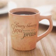 Mug-Blessed Be Your Name-Graceful Melody (Hillsong)(Classic)