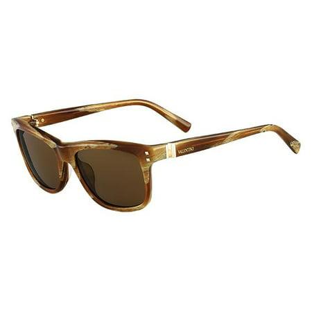 Valentino-V653S-Mens-Wayfarer-Sunglasses-Striped-Cognac