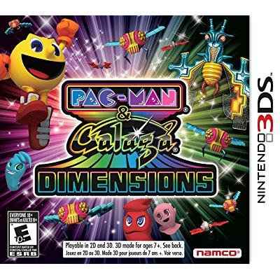 Pac Man And Galaga Dimensions   Nintendo 3Ds