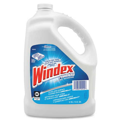 Diversey Care 90940CT 1 Gal. Windex Powerized Formula Glass Surface Cleaner (4/Box)