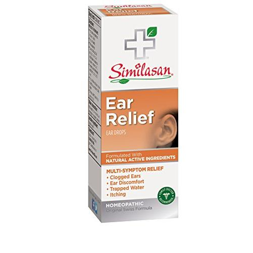 2 Pack - Similasan Homeopathic Ear Relief Ear Drops 0.33 fl oz (10 ml) Each