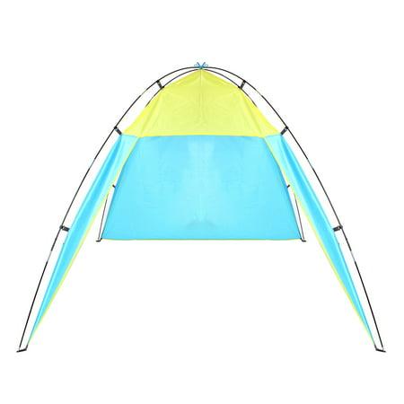 P Op Up Portable Beach Canopy Uv Sun Shade Shelter