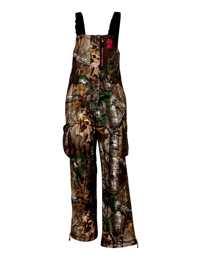 Rocky Womens RAM Bib, Realtree Xtra  Black, Medium by Rocky