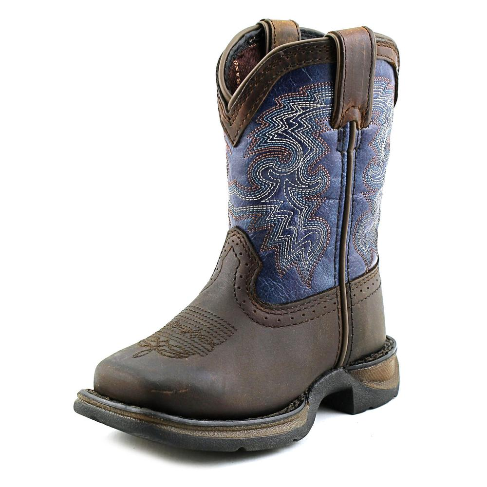 Durango Lil Durango Youth Pointed Toe Leather Blue Western Boot by Durango