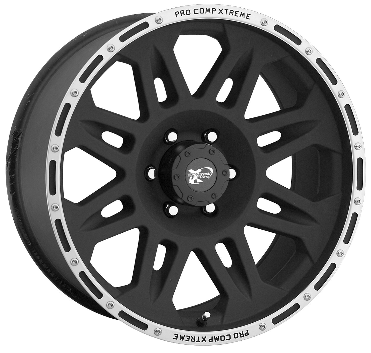 "Pro Comp Alloys Series 05 Flat Black Wheel with Machined (17x9""/5x127mm)"