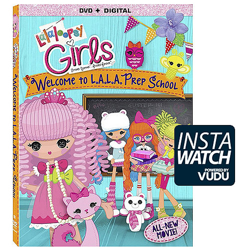 Lalaloopsy Girls: Welsome To L.A. L.A. Prep School (DVD   Digital Copy) (With INSTAWATCH) (Widescreen)