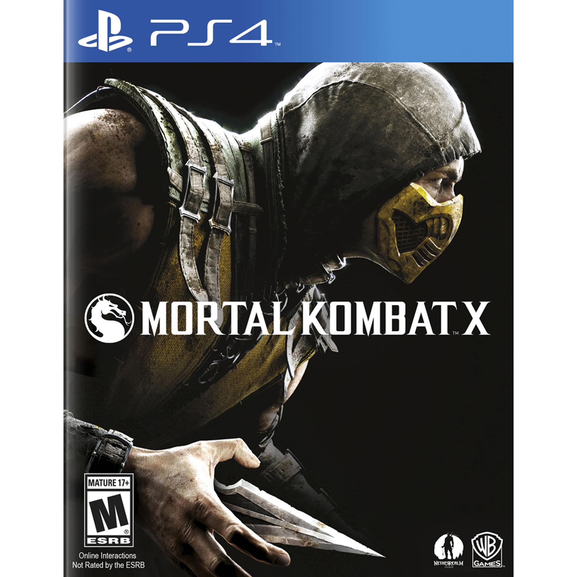 Mortal Kombat X (PS4)