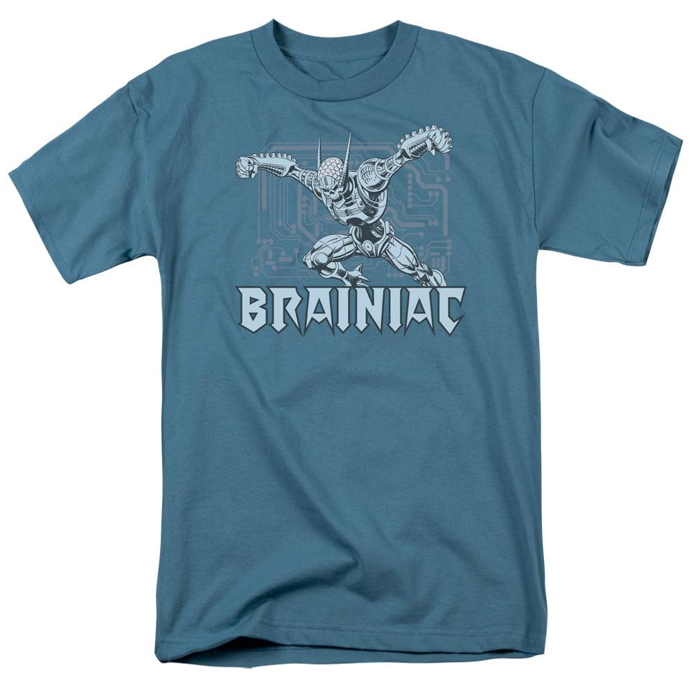 Dc/Brainiac   S/S Adult 18/1   Slate     Dco307