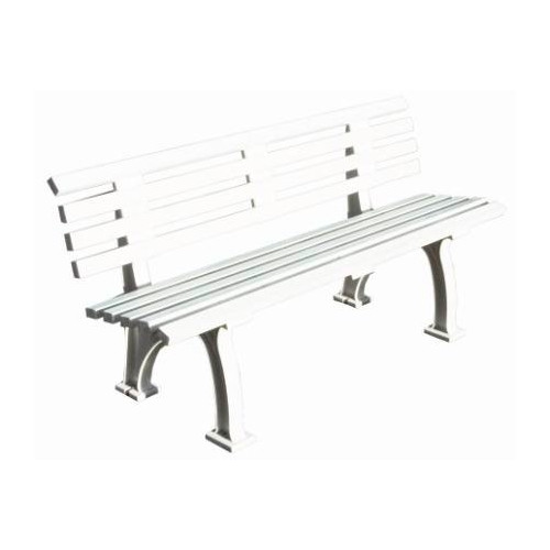 Putterman Athletics Courtside Plastic Park Bench
