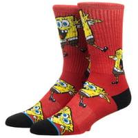 Crew Sock - Spongebob - All Over Print Athletic New so6k2gspo