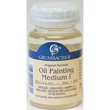 Grumbacher - Oil Painting Medium I - Oil Painting Medium I (Canadian Label)