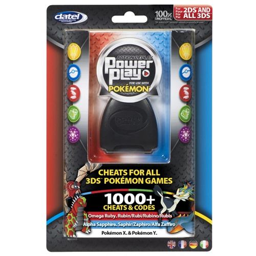 Datel Action Replay Power Play for use with Pokemon
