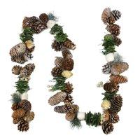Northlight Seasonal Country Rustic Pine Cone Artificial Christmas Garland