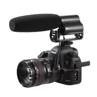 Sevenoak SK-CM200 Shotgun Video Condensor Microphone with Deadcat & Hard Case for DSLR Cameras and Camcorders