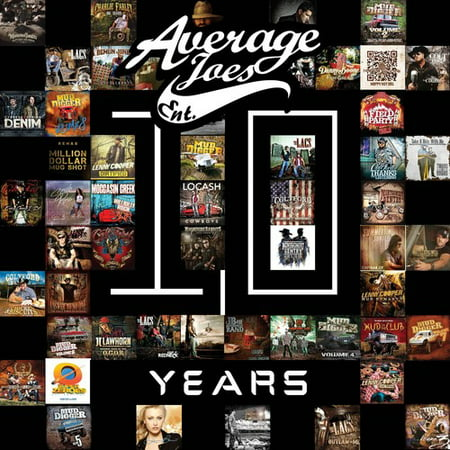 Average Joes: 10 Years (Various - Average Joes Outfit