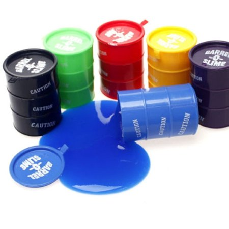 Colored Barrel Of Slime 6 Different Colors Of Barrel of Slime It Slime Time